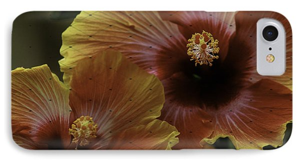 Hibiscus IPhone Case by Lori Mellen-Pagliaro