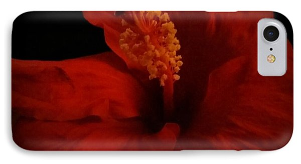 Hibiscus IPhone Case by Tammy Herrin