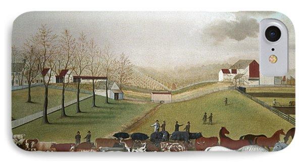 Hicks: Cornell Farm, 1848 Phone Case by Granger