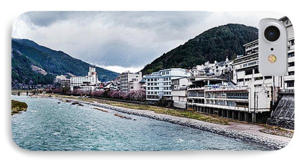 Hida River In Gero Japan IPhone Case by Oleksiy Maksymenko