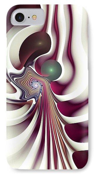 IPhone Case featuring the digital art Hidden Agenda by Anastasiya Malakhova
