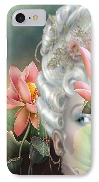 Hidden Among The Lotus IPhone Case by G Berry