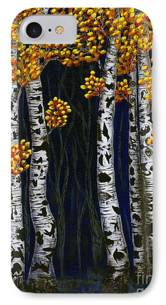 Hidden Autumn  IPhone Case by Rebecca Parker