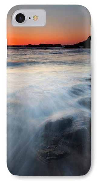Hidden Beneath The Tides Phone Case by Mike  Dawson