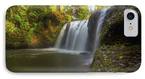 Hidden Falls In Rock Creek Phone Case by David Gn