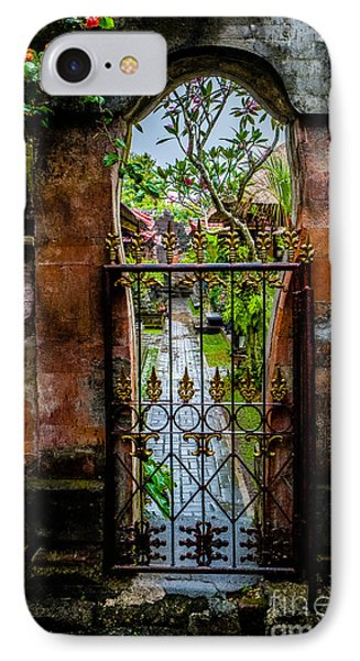 Bali Gate IPhone Case