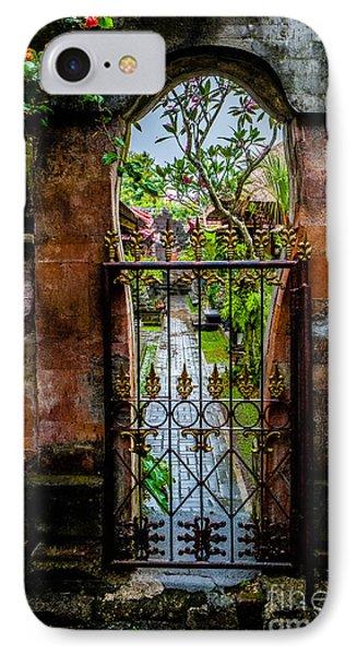 Bali Gate IPhone Case by M G Whittingham