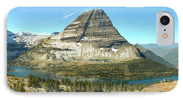 Hidden Lake Platform Panorama IPhone Case by Adam Jewell