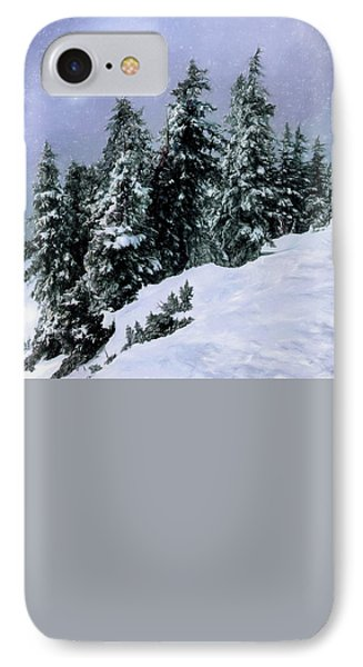IPhone Case featuring the photograph Hidden Peak by Jim Hill