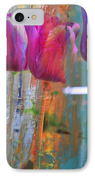 Hidden Tulips Phone Case by  Cid