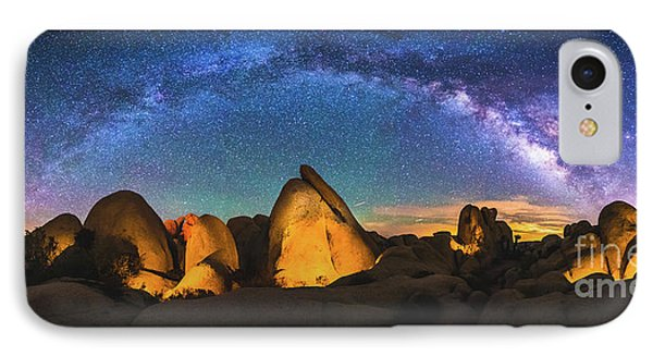 Hidden Valley Milky Way IPhone Case by Robert Loe