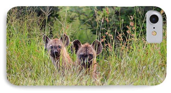 Hide-n-seek Hyenas IPhone Case