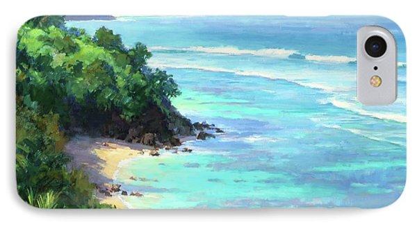 Hideaways Beach Phone Case by Jenifer Prince