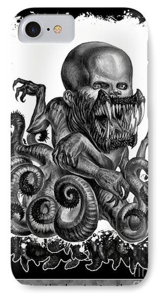 Hideous Truth About An Unknown Birth IPhone Case by Tony Koehl