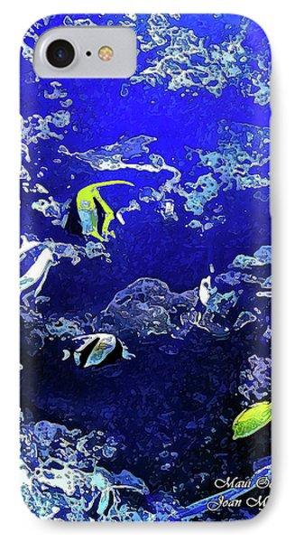 Hiding Fish IPhone Case by Joan  Minchak