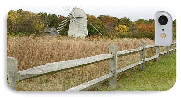Higgins Farm Windmill Brewster Cape Cod Phone Case by Matt Suess