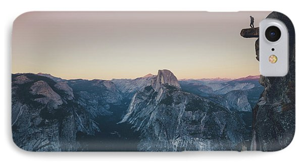High Above Yosemite Valley IPhone Case