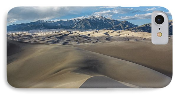 High Dune - Great Sand Dunes National Park IPhone Case by Aaron Spong