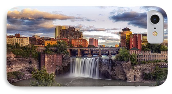 IPhone Case featuring the photograph High Falls Crop by Mark Papke