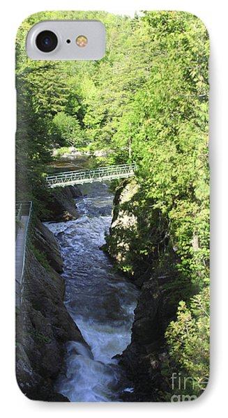 High Falls Gorge Phone Case by Deborah Benoit