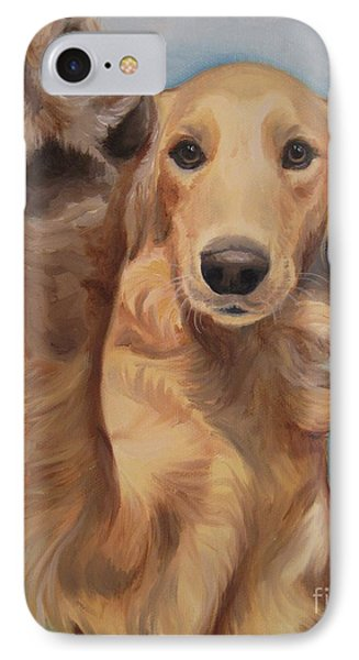 High Five Phone Case by Jindra Noewi