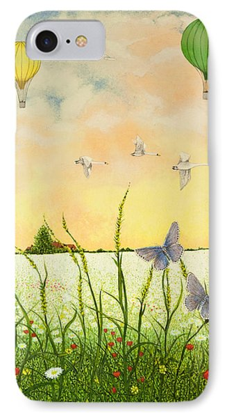 High Flyers IPhone Case by Pat Scott