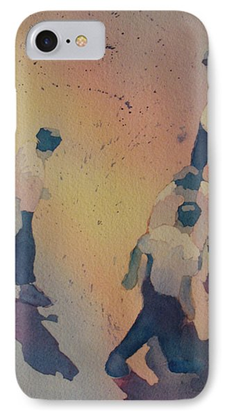 High Noon At The Gravel Spit I IPhone Case by Jenny Armitage