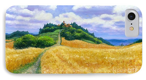 High Noon Tuscany  IPhone Case by Michael Swanson