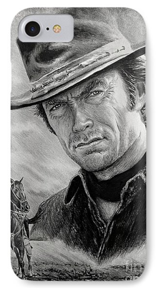 High Plains Drifter IPhone Case by Andrew Read