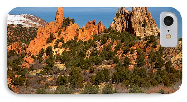 IPhone Case featuring the photograph High Point Rock Towers by Adam Jewell
