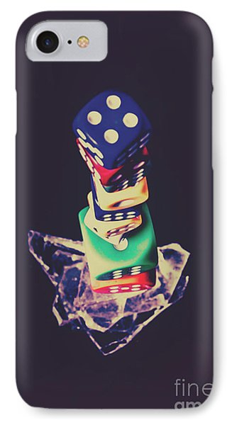 High Roller Luck IPhone Case by Jorgo Photography - Wall Art Gallery