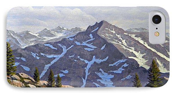 High Sierras Study Phone Case by Frank Wilson