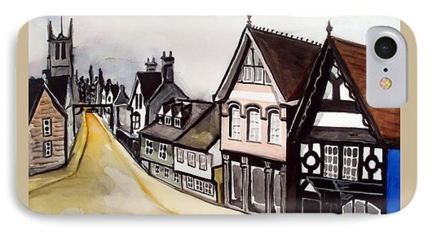 High Street Of Stamford In England IPhone Case by Dora Hathazi Mendes