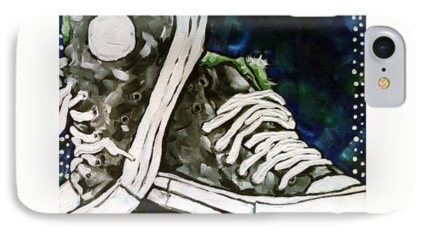 High Top Heaven IPhone Case by Jackie Carpenter
