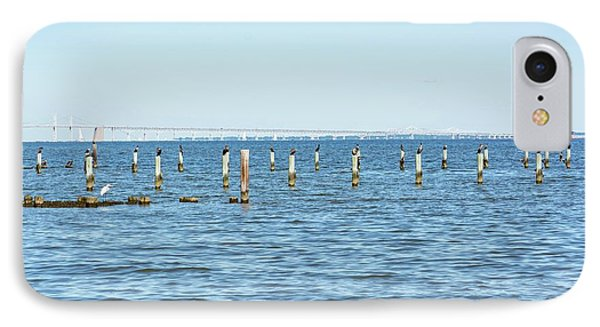 Highland Beach On The Chesapeake IPhone Case