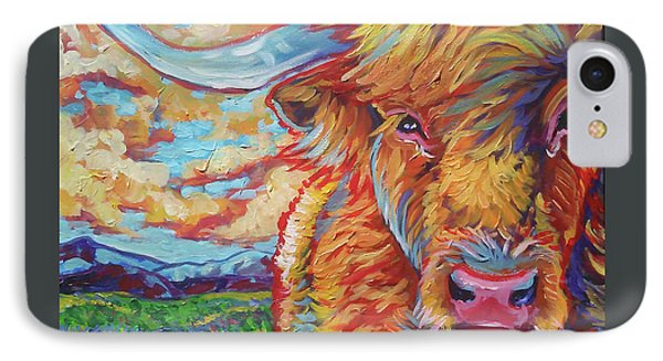 Highland Breeze IPhone Case by Jenn Cunningham