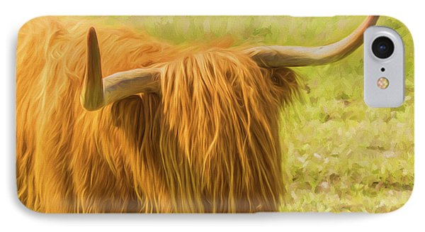 Highland Cow IPhone Case by Veikko Suikkanen