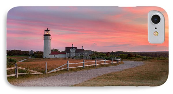 Highland Light Sunset 2015 IPhone Case by Bill Wakeley