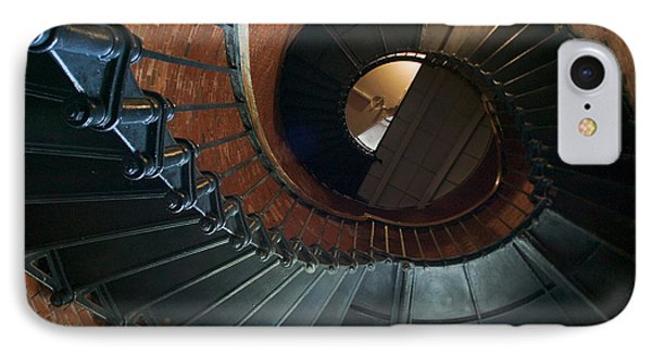 Highland Lighthouse Stairs Cape Cod Phone Case by Matt Suess