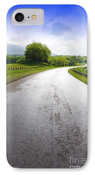 Highland Scenic Highway Route 150 Phone Case by Thomas R Fletcher