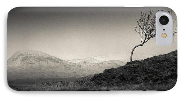 Highland Tree IPhone Case by Dave Bowman