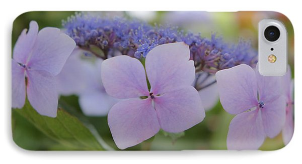 Highlands Hydrangea IPhone Case by Amy Fearn