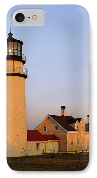 IPhone Case featuring the photograph Higland Lighthouse Cape Cod by Roupen  Baker