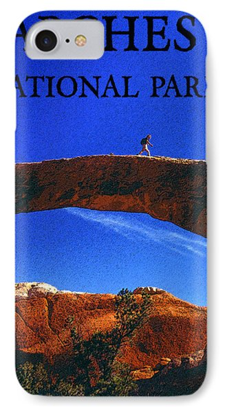 Hiking Arches Phone Case by David Lee Thompson