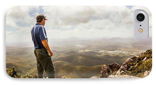 Hiking Australia IPhone Case