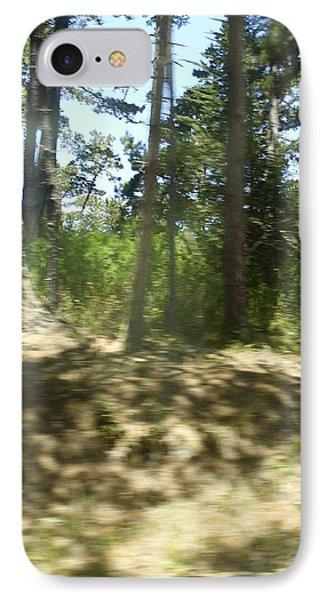 Hiking Blur IPhone Case