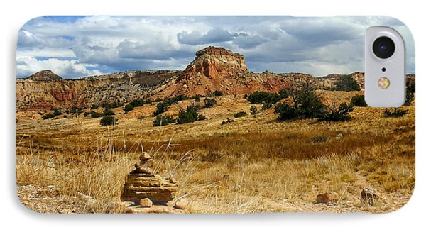 IPhone Case featuring the photograph Hiking Ghost Ranch New Mexico by Kurt Van Wagner
