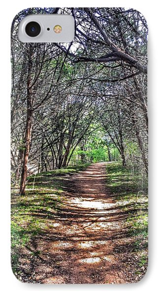 Hiking Meridian State Park  IPhone Case