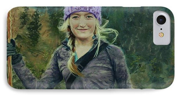 Hiking The White Mountains IPhone Case