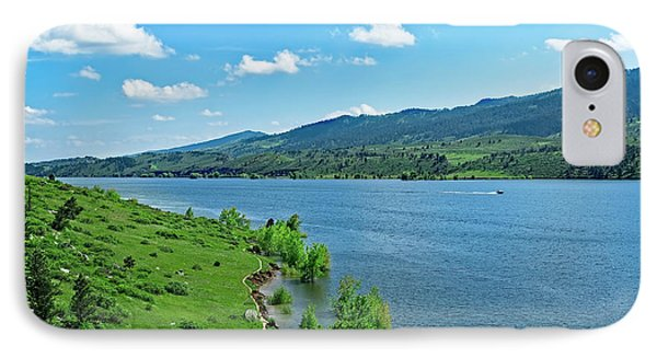 Hiking Trail IPhone Case by Jon Burch Photography